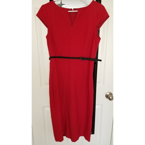 3b28c1c8be8 ANTONIO MELANI Dresses   Skirts - Red dress with belt